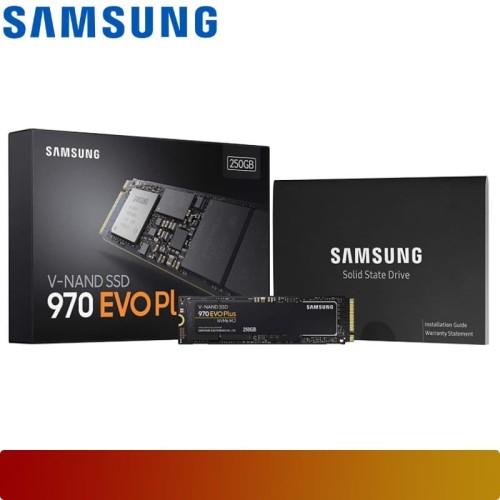 Foto Produk SSD SAMSUNG - SSD 970 EVO PLUS NVME M.2 250GB MZ-V7S250B/AM PCIe Gen3 dari Nano Komputer