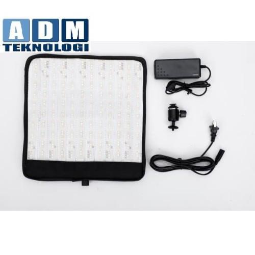 Foto Produk Soonwell FR-11 FLEXIBLE LED LIGHT MAT KIT 1*1ft / 34*34cm RGB Color 50 dari ADM tekno