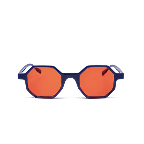 Foto Produk Frame Kacamata Minus/Fashion/Dennet Blue dari Optika Lunett