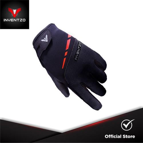 Foto Produk INVENTZO Imperio Black - Sarung Tangan Motor Sensitive Touch Tip - Large dari INVENTZO