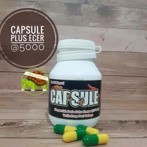 Foto Produk Capsule Plus Eceran / Obat Reptil dari House of Exo Pet