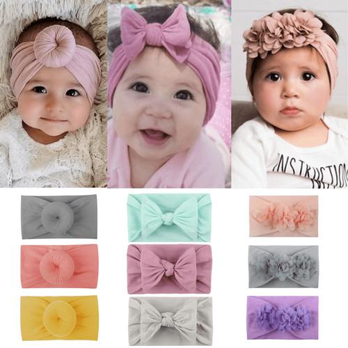 Foto Produk Turban Bayi / Bando Bayi / Bandana Bayi / Headband Bayi Rajut (B176) dari Caliloops