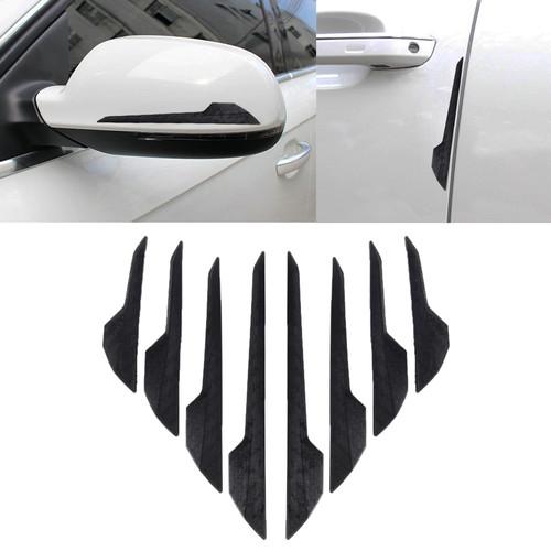 Foto Produk Car Body, Door,Bumper,Spion Guard 8 Pcs/Set | Pelindung Lecet Mobil - Hitam dari Gentleman Car