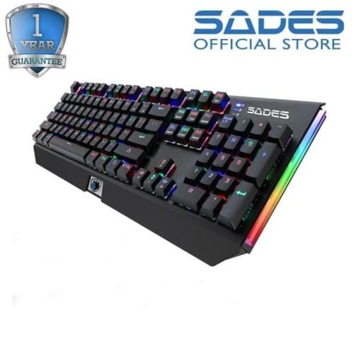 Foto Produk Sades Thyrsus RGB Mechanical Keyboard dari Sades Official Store