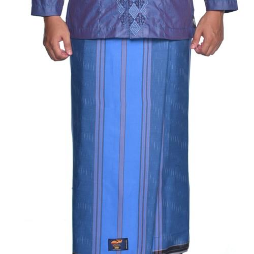 Foto Produk Sarung ATLAS Premium 550 Gerimis Biru dari Sarung Atlas Official
