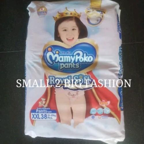Foto Produk mamypoko pants royal soft L52 XL46 XXL38 L 52 XL 46 XXL 38 boy girl - xxl20 boy dari Small 2 Big Fashion