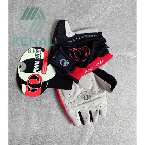 Foto Produk Sarung Tangan Sepeda PEARL IZUMI Dengan Padding Silikon - Merah, M dari Kenal-Bike
