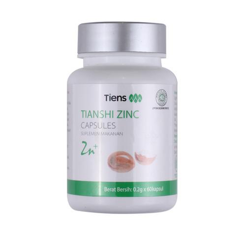 Foto Produk Zinc Capsules - Suplementasi Zinc dari Lapak Suplemen Herbal