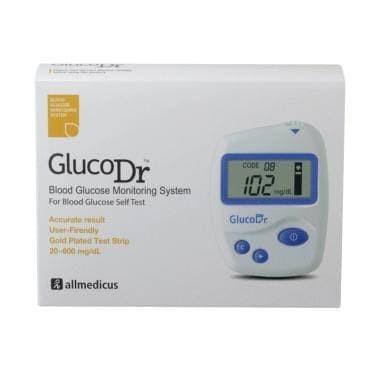 Foto Produk Alat cek Gula darah GlucoDr / Gluco Dr Biosensor (tanpa Strip) dari ASA MEDIKA