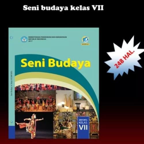 Foto Produk buku teks siswa seni budaya k13 Dikbud kelas 7 edisi revisi terbaru dari wahanaagung book