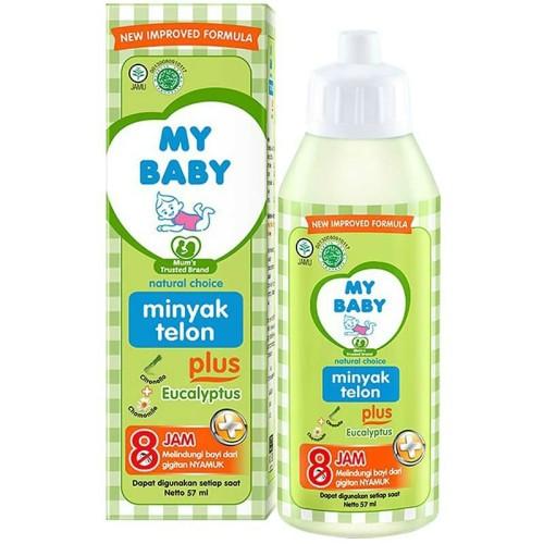 Foto Produk My Baby Minyak Telon Plus 57Ml dari Raffardhan olshop