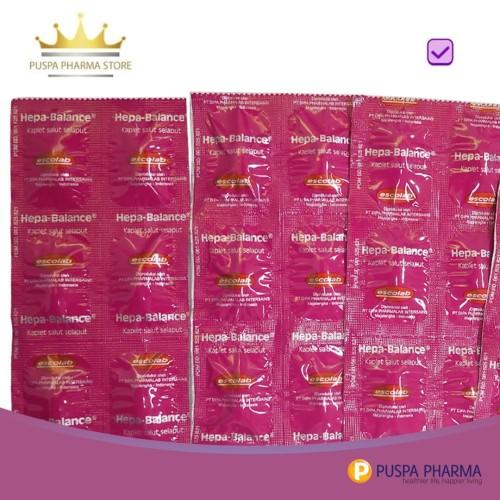Foto Produk Hepa-Balance (Strip) - Membantu memelihara kesehatan fungsi hati dari Puspa Pharma Store