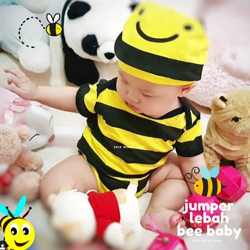 Foto Produk jumper bayi lebah / baby romper bee - M dari ermon baby and kids
