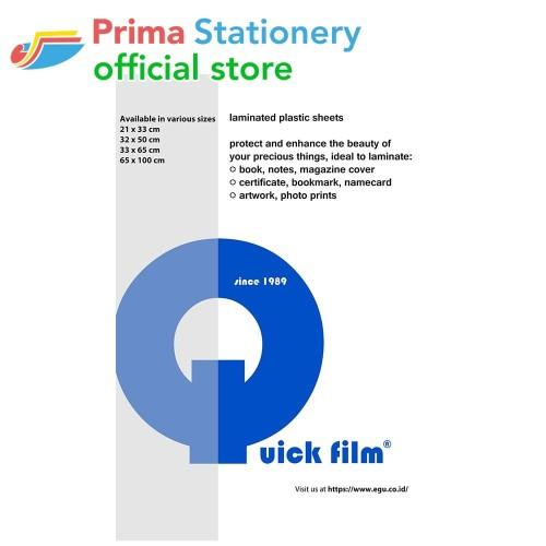 Foto Produk Quick Film 33x65cm Hologram dari Prima Stationery