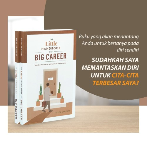 Foto Produk The Little Handbook for Big Career (Pengiriman 2 April, Edisi Bahasa) dari Cerita Media