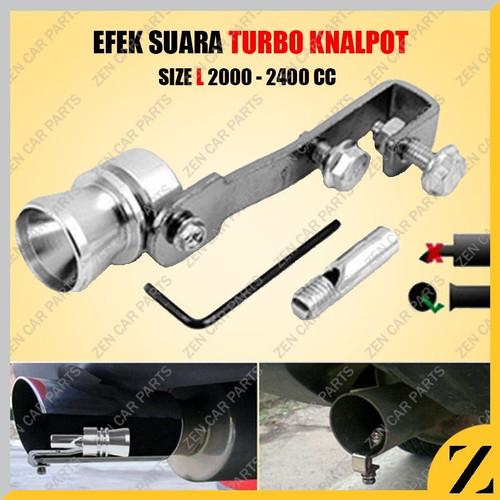Foto Produk Turbo Whistle Whistler Siul Suara Efek Trubo Knalpot Mobil Car Motor L dari Zen Car Parts