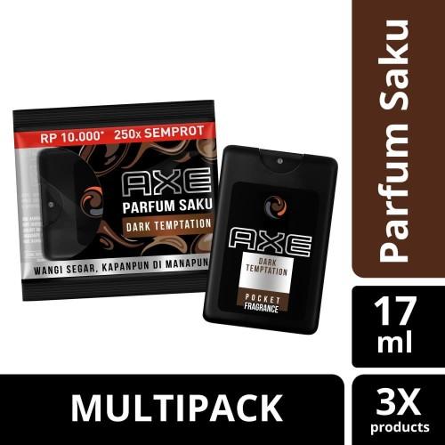 Foto Produk Axe Parfum Saku Dark Temptation 17Ml Multipack dari Unilever Official Store
