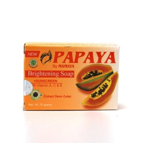 Foto Produk Sabun Papaya Mamaya 135g dari Raja Jaya Perkasa