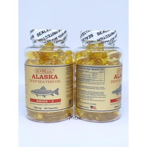 Foto Produk (PUITIH) Minyak ikan Alaska fish Oil PT purusa tutup putih dari Mitra21