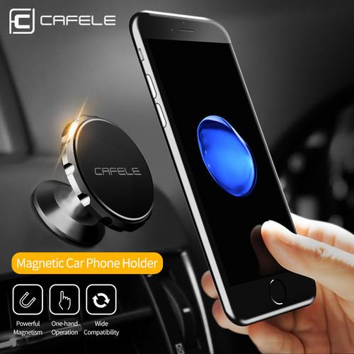 Foto Produk Cafele Car Magnet Phone Holder Universal|Magnetic Air Vent / Dashboard - Model Dashboard dari Gentleman Car