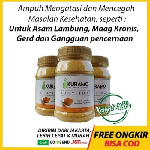 Foto Produk Kuramo Kunyit Mas Obat Asam Lambung Maag Gerd Kronis Teh Herbal Kuat dari Keight Store