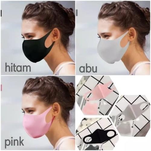 Foto Produk Masker Mulut Korea / Masker Debu / Masker Hidung / Masker Kain Murah - Hitam dari Home Diaries