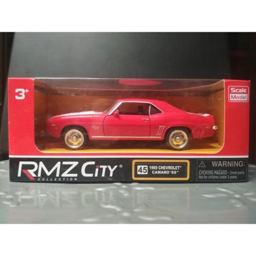Foto Produk Diecast RMZ City 1969 Chevrolet Camaro SS - Red Strip White - Skala 32 dari YDIECKINS