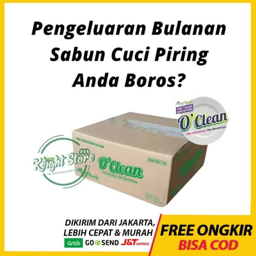 Foto Produk OClean Paket Sabun Cuci Piring Cair Hemat Wangi Nipis Anti Lemak Mama dari Keight Store