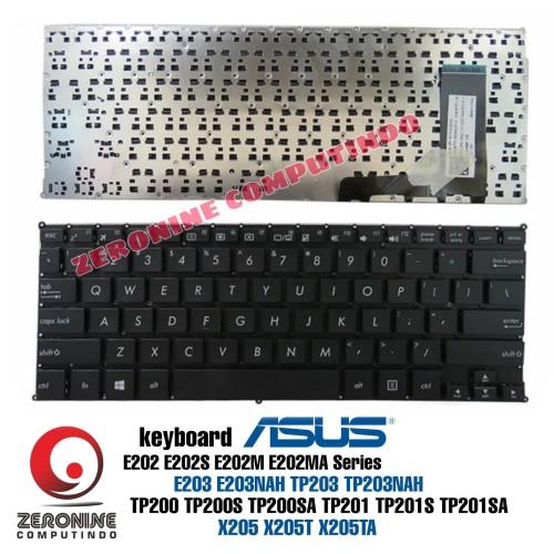 Foto Produk Keyboard ASUS E203 E202 E202S E202M E203NAH TP203 TP200 TP201 X205 dari ZeroNine Computindo