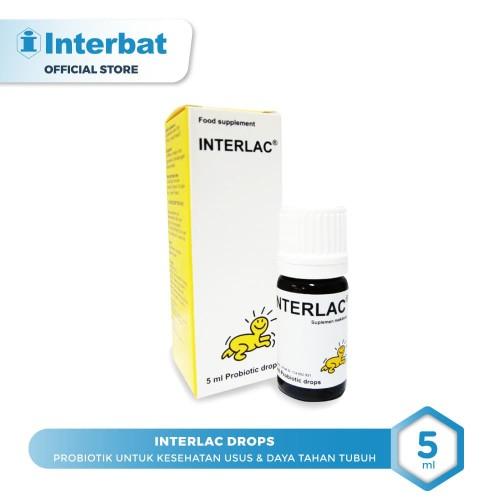 Foto Produk Interlac Probiotik Drops - 5ml dari Interbat Consumer Health