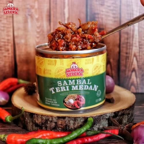 Foto Produk Sambal Teri Medan Sambel Ikan Teri Nasi Jawara Selera dari The Little Snacks