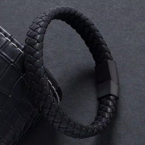 Foto Produk Gelang Pria Wanita Korea Multilayer Anyaman Kulit Bracelet fashion new dari Satu Furniture Tangerang