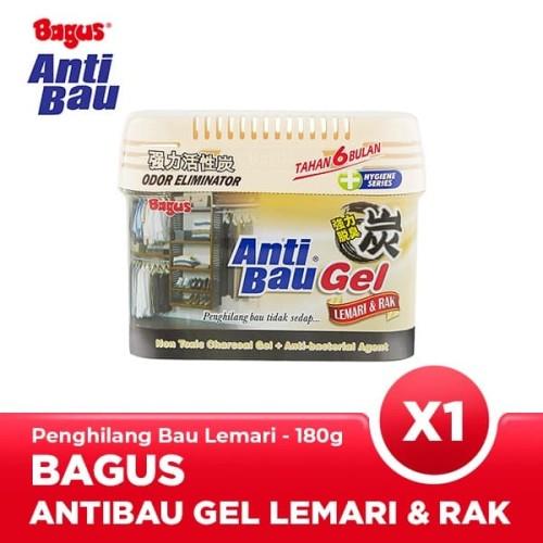 Foto Produk Bagus Anti Bau Gel Lemari & Rak 180 gr dari Bagus Official Store