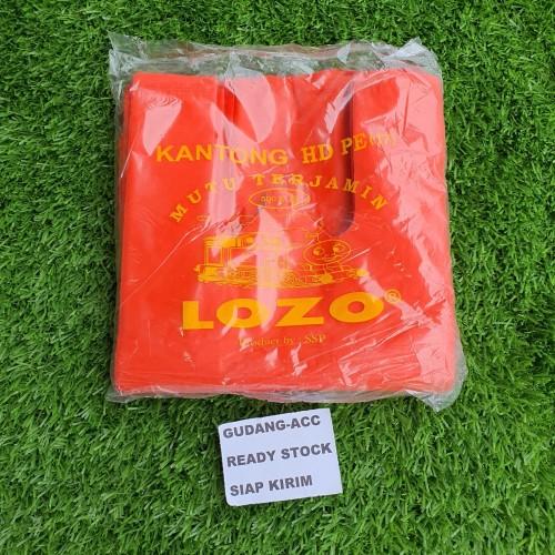 Foto Produk Kantong Plastik Kresek Lozo Tebal Merah Ukuran 17 24 28 35 40 50 Cm - Lozo Red 17cm dari ACC DEPOK