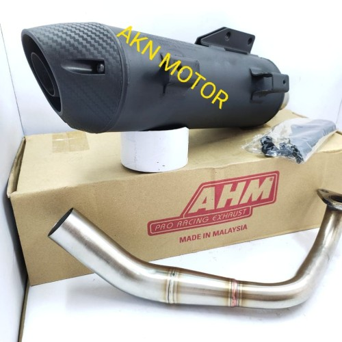 Foto Produk knalpot ahm standar racing xeon rc dari aknmotor77