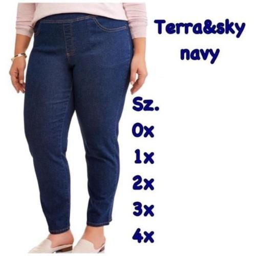 Foto Produk Big Size Pants Celana Branded Bigsize Jeans Terra&Sky Murah stretch dari toko super murah