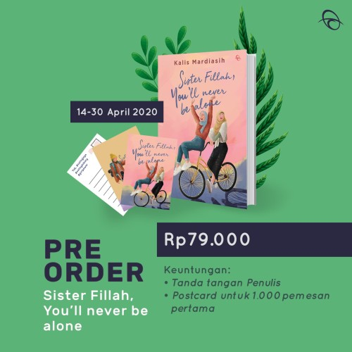 Foto Produk Sister Fillah You'll Never Be Alone/Kallis Mardiasih/Qanita [Original] dari kanaya bookstore