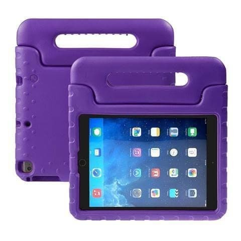 Foto Produk iPad mini 1 2 3 4 Standing Children Cover Case Shockproof Kids Anak - Ungu dari Grosir Kitchenware