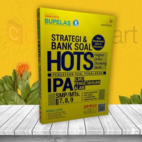 Foto Produk BUKU PELAJARAN SMP: STRATEGI & BANK SOAL HOTS IPA SMP KELAS 7 8 9 dari cerdas media