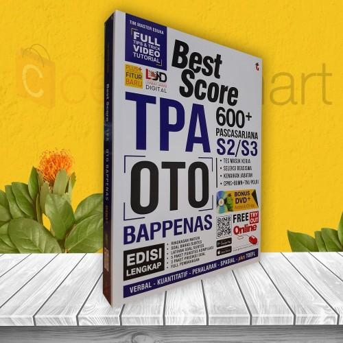 Foto Produk BUKU PSIKOTES: BEST SCORE TPA OTO BAPPENAS BANK SOAL FULL PEMBAHASAN dari cerdas media