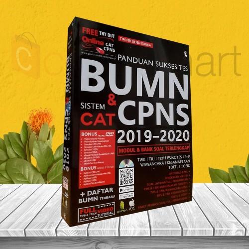 Foto Produk PANDUAN SUKSES TES BUMN & CPNS SISTEM CAT 2019-2020 dari cerdas media