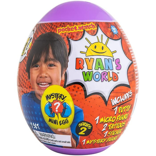 Foto Produk Ryan's World ™ Mini Mystery Egg Mainan Ryan Original Import - Ungu dari Deals Corner Toys