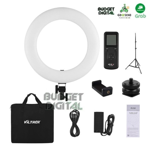 Foto Produk Ring Light VILTROX LED VL-600T + Stand Ringlight VL 600T 600 Ringlite dari BudgetDigital