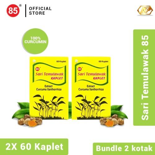 Foto Produk Twin Pack - Deli 85 Sari Temulawak Kaplet 60's dari CITRA DELI KREASITAMA