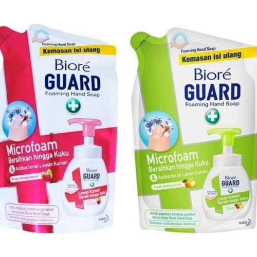 Foto Produk Biore Foaming Hand Wash Sabun Cuci Tangan 250ml Refill Antibacterial - hijau dari Yogieyo
