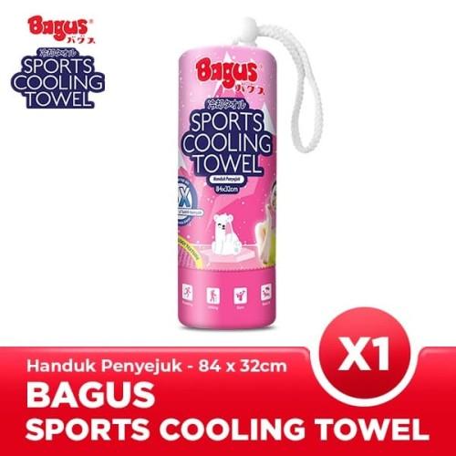 Foto Produk Bagus Sport Cooling Towel Pink Besar dari Bagus Official Store