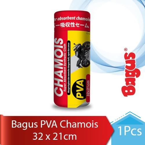 Foto Produk Bagus Chamois Uk. 32 x 21 cm--(Red/Blue/Yellow) - Warna Acak dari Bagus Official Store