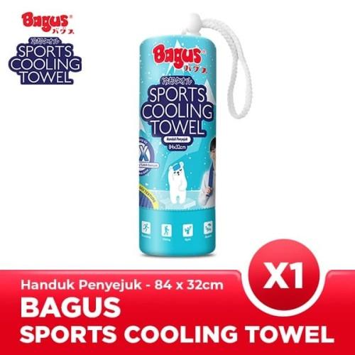 Foto Produk Bagus Sport Cooling Towel Biru Besar dari Bagus Official Store