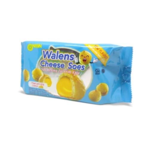 Foto Produk Nissin Walens Soes 100gr - Keju dari Bintang Terang Snack