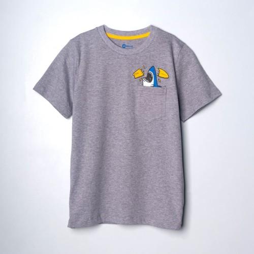 Foto Produk MOOSCA KIDS Sharky Pocket T-shirt Kaos Anak - S dari Moosca Kidswear